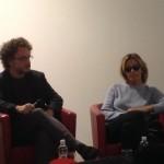 il regista Morabito e Isabella Ferrari
