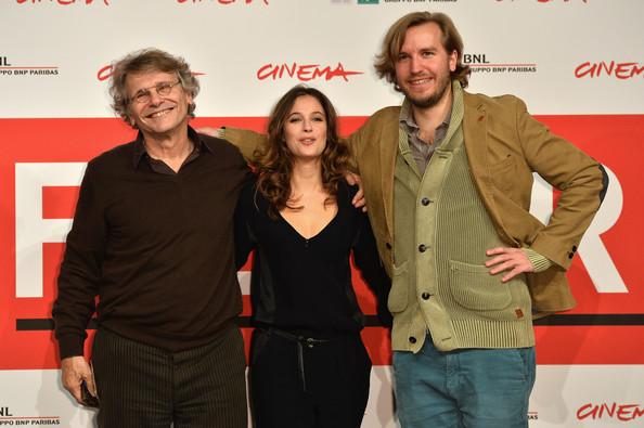 Daniel Pennac, Mélanie Bernier e Nicolas Bary a Roma