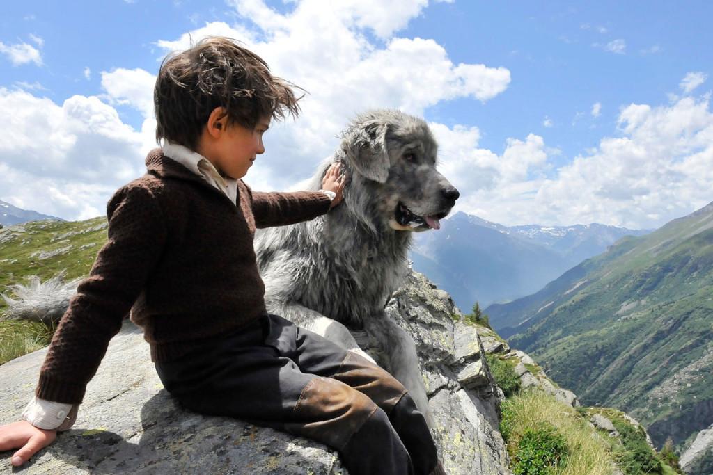 """Il piccolo Sebastien e la """"temibile"""" bestia Belle"""
