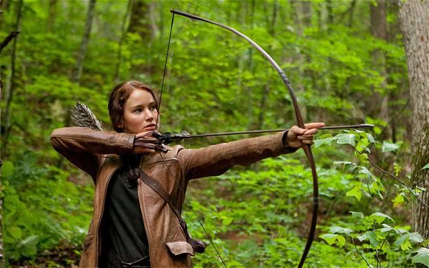 Jennifer Lawrence è Katniss Everdeen