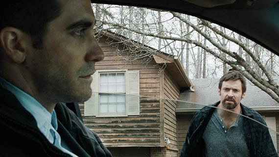 Jake Gyllenhaal e Hugh Jackman in Prisoners