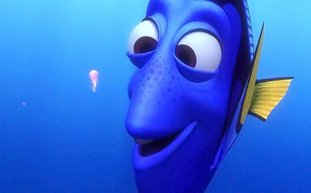 Finding Nemo (2003) Dory (voiced by Ellen DeGeneres) (Screengrab)