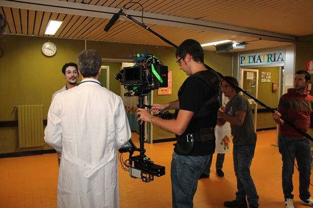 Sul set di Clown T