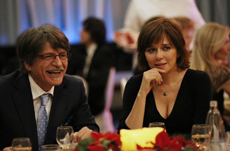 Fabrizio Bentivoglio e Valeria Golino