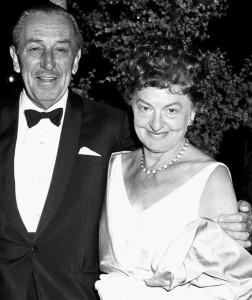 Pamela L. Travers e Walt Disney ai tempi del film su Mary Poppins