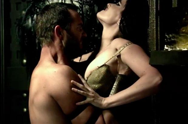 Temistocle e Artemisia in una scena bollente