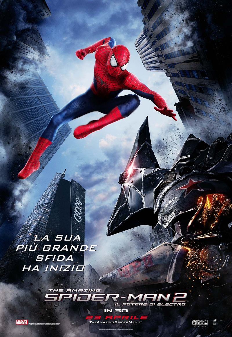 The amazing spiderman 2 poster