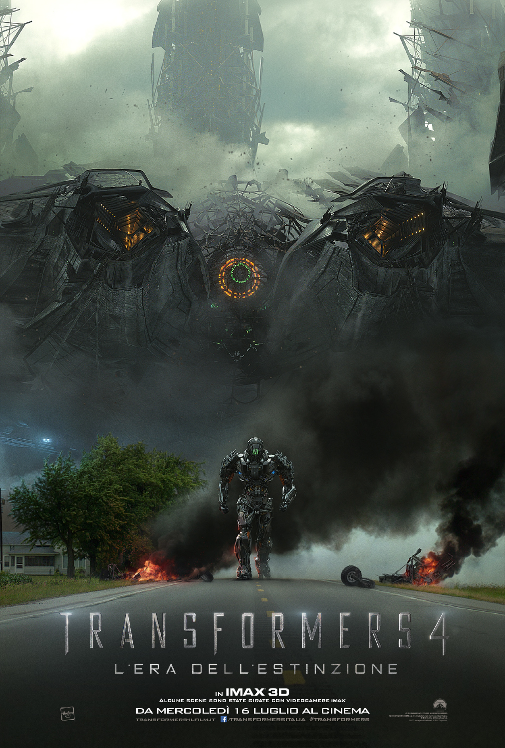 Transformers 4_Teaser poster italiano