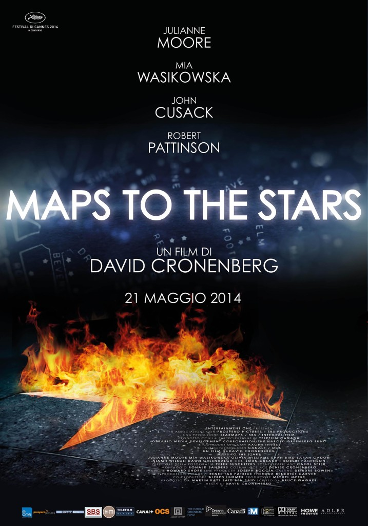 Maps To The Stars_poster italiano