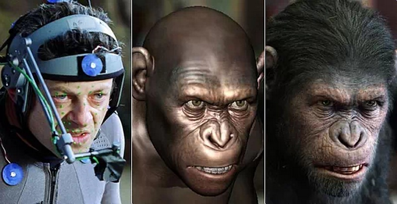 Andy Serkis e il processo di performance capture per dare movenze a Cesare