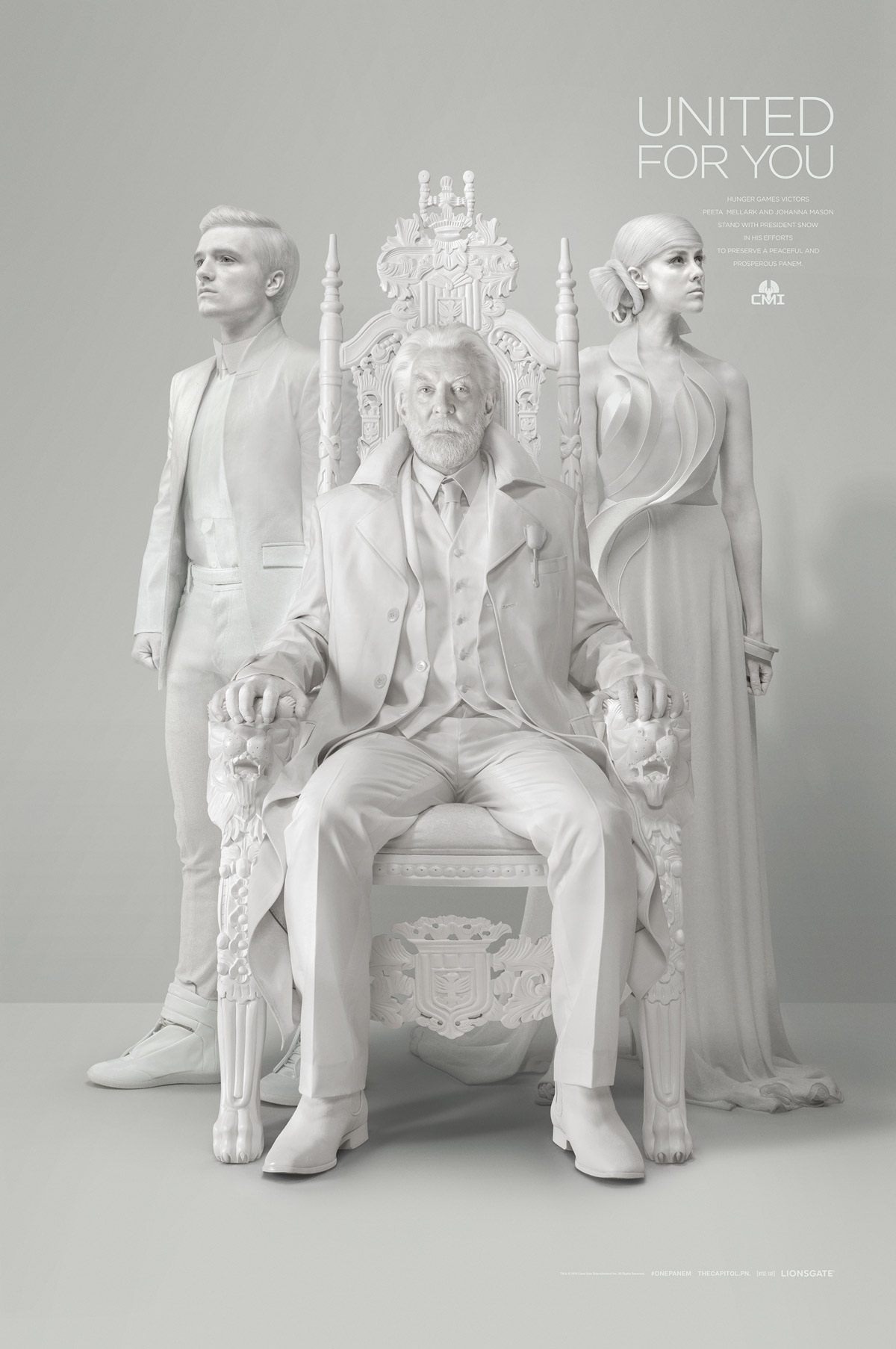 Hunger Games Ritratto Presidente Snow