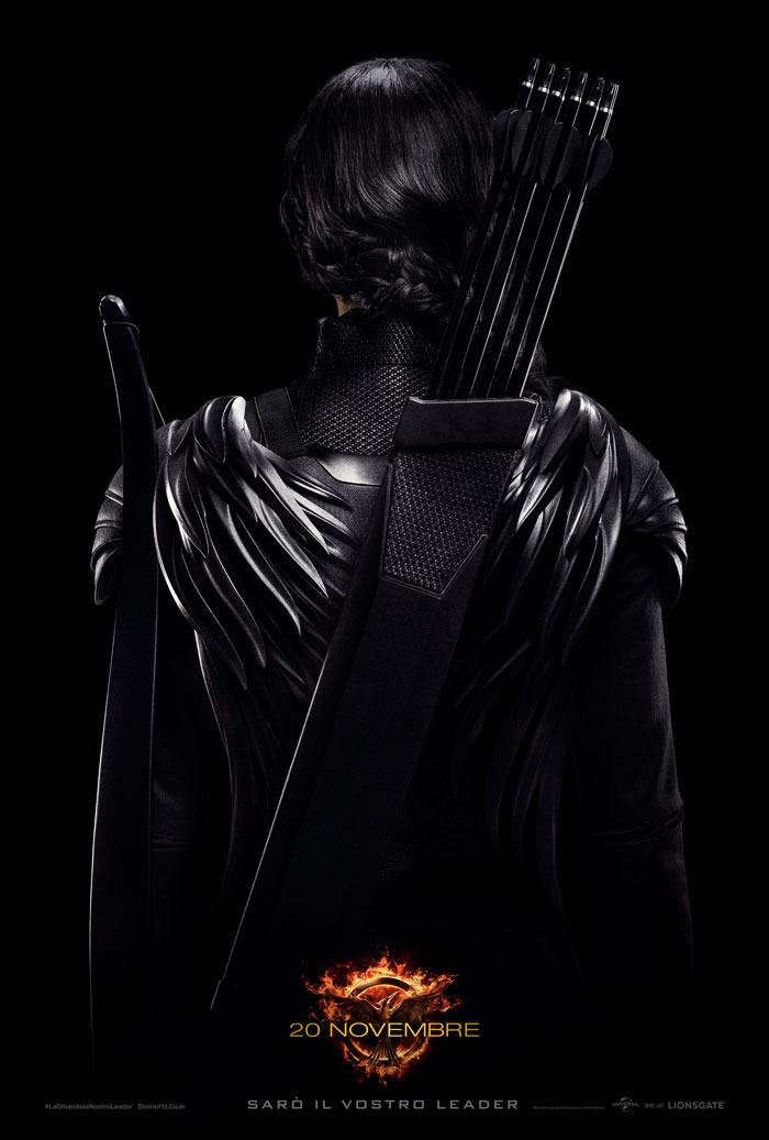 hunger games poster ribelli - Katniss