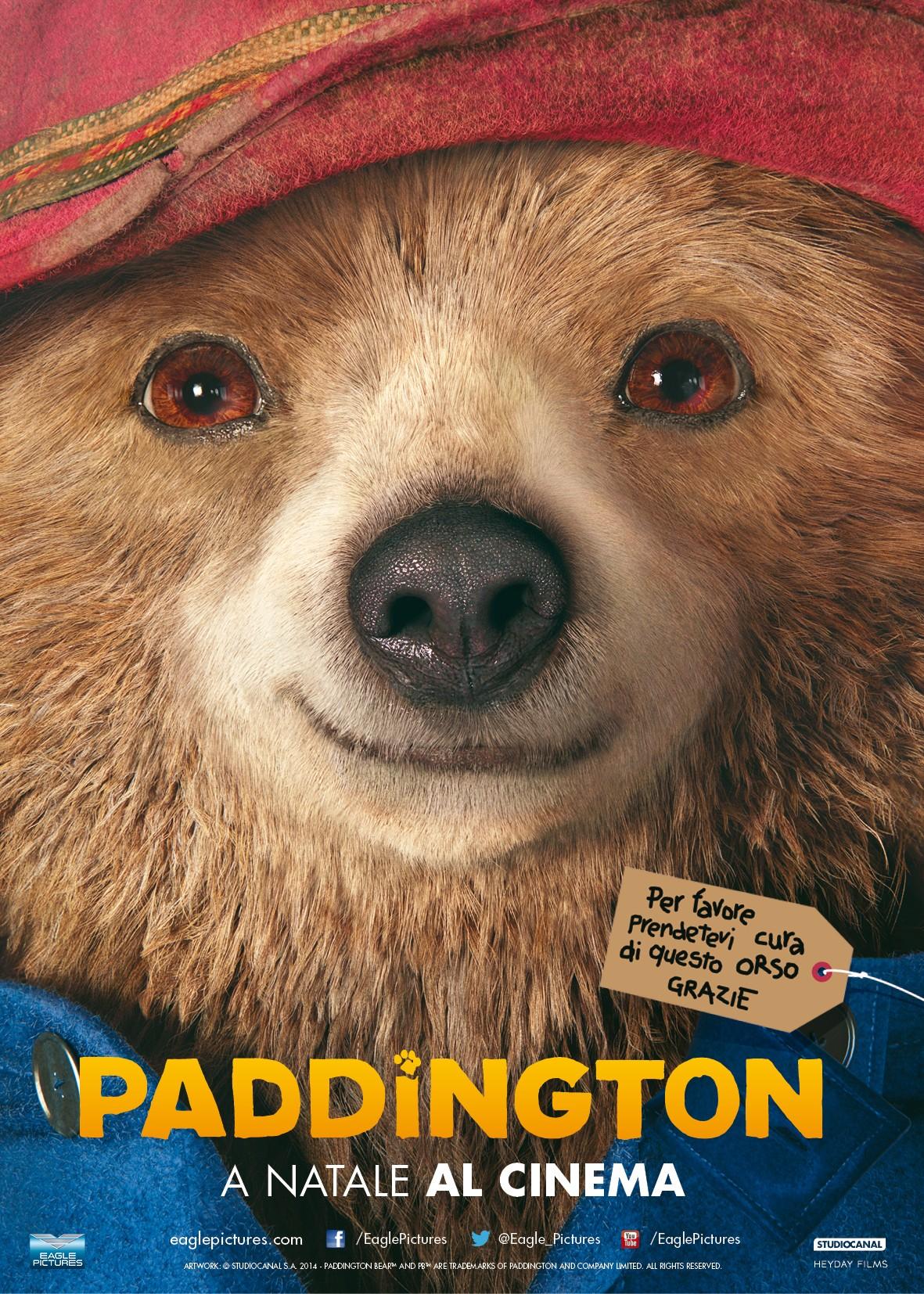 Paddington la recensione darkside cinema for Affittare una cabina nel grande orso