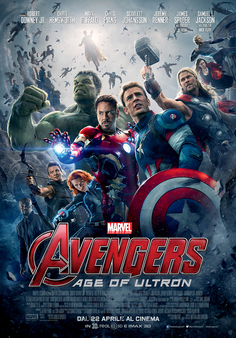 avengers age of ultron poster italiano