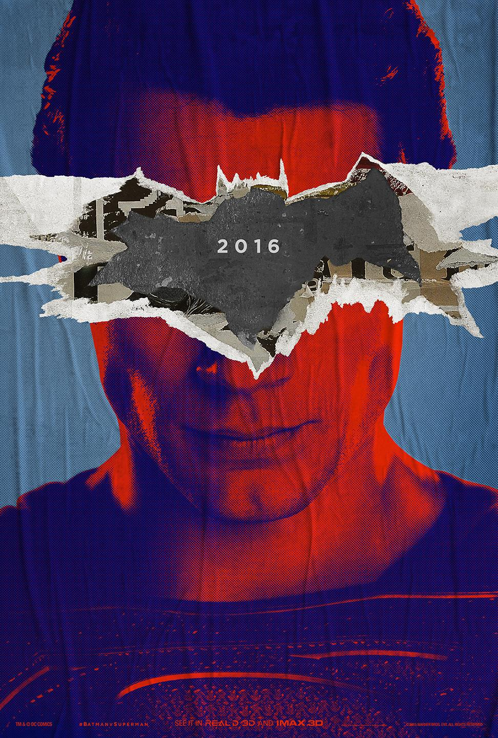 batmanvsuperman_teaser poster Superman