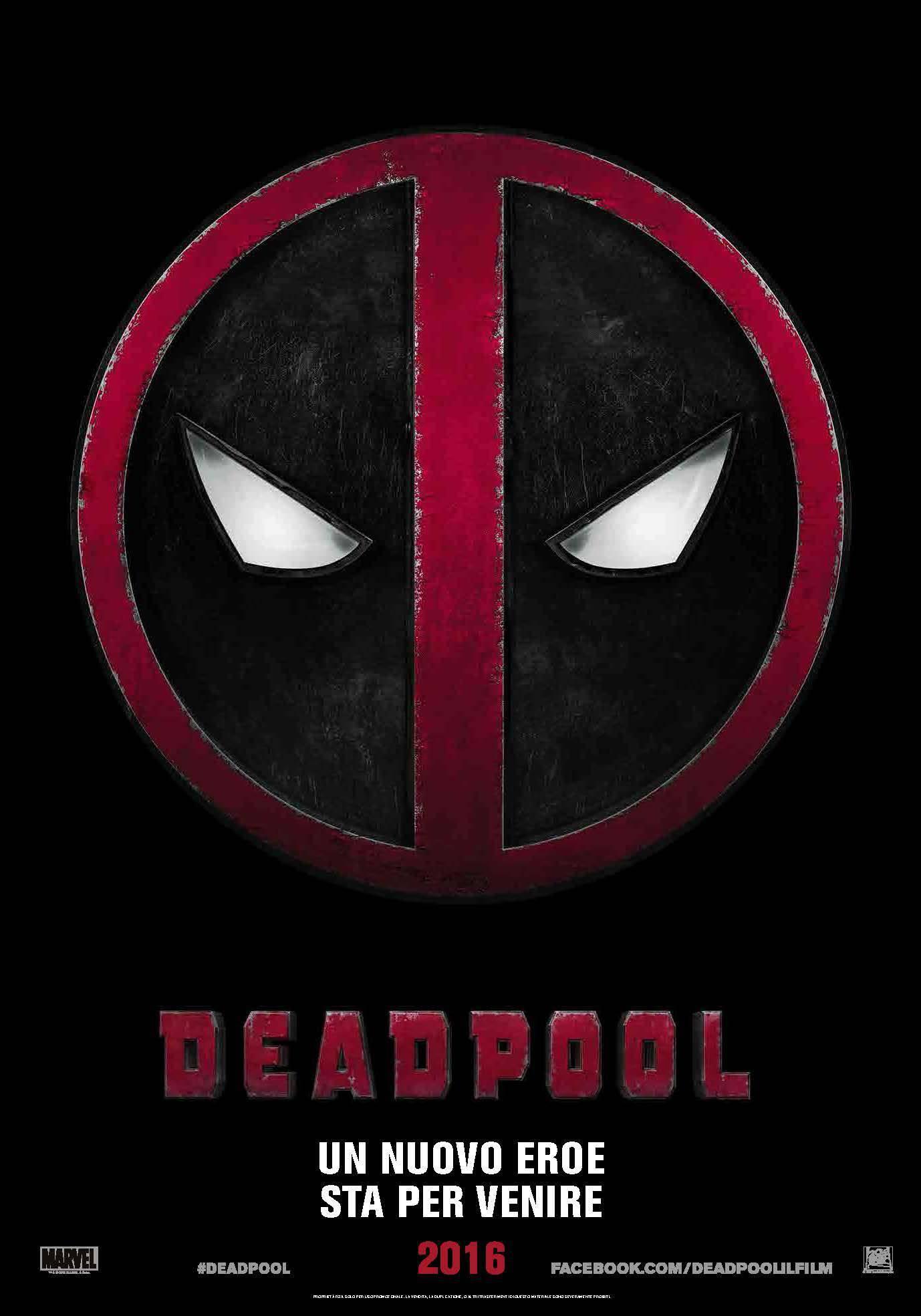deadpool teaser poster ita