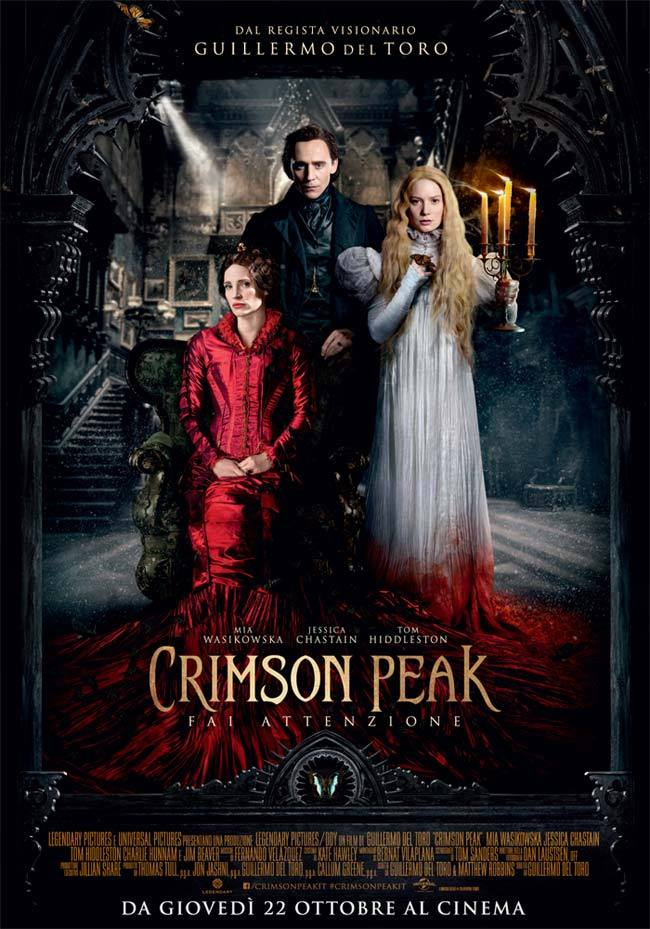 crimson peak poster italiano 2