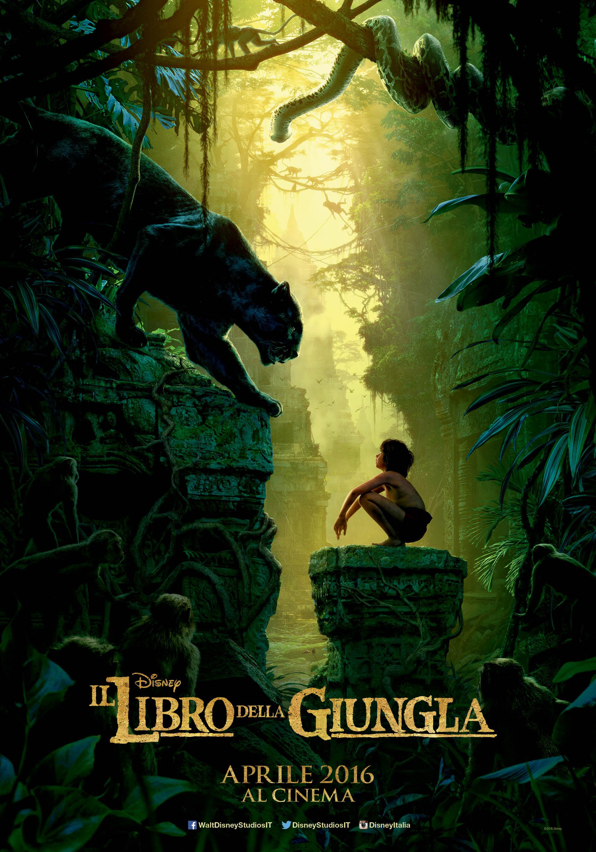 il libro della giungla poster