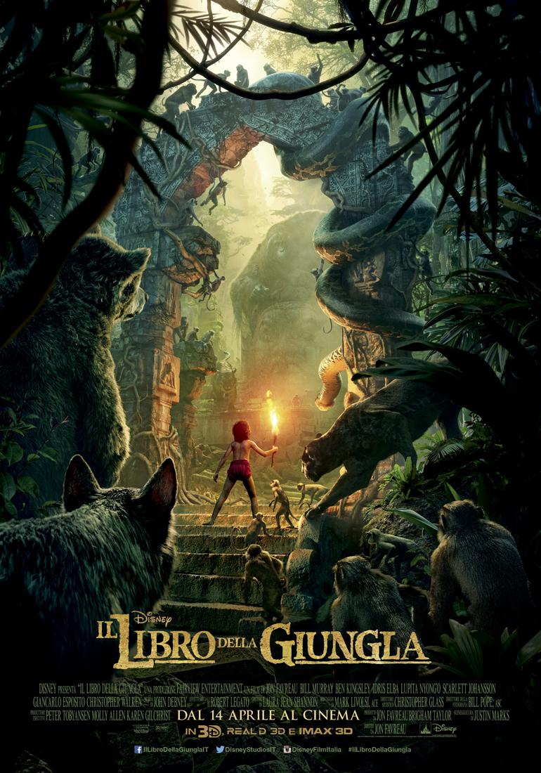 il libro della giungla poster 2