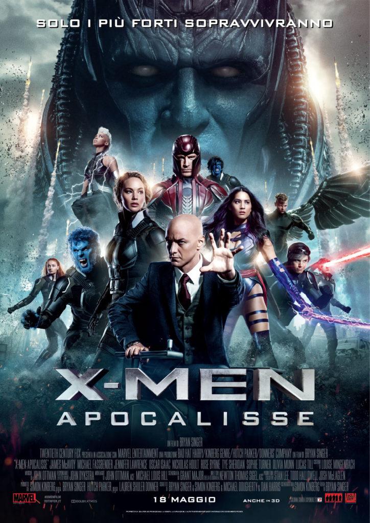 x-men apocalisse trailer ita