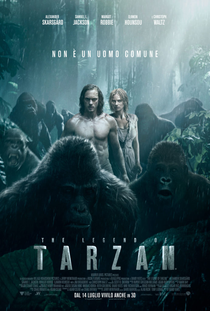 Tarzan poster italiano 3
