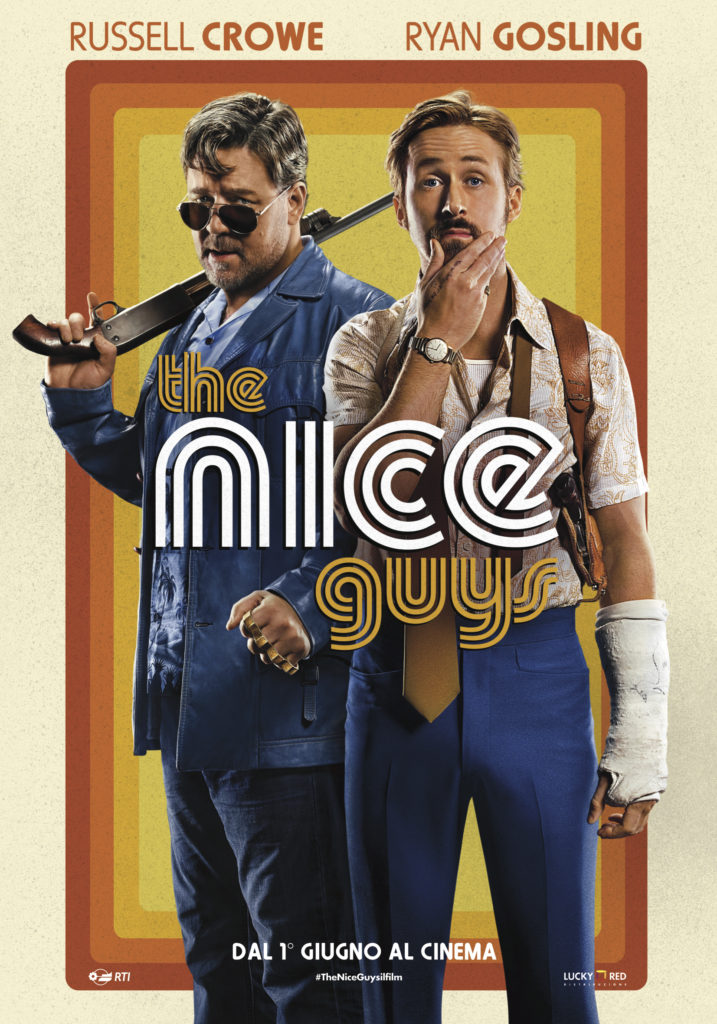 The Nice Guys Poster ITA