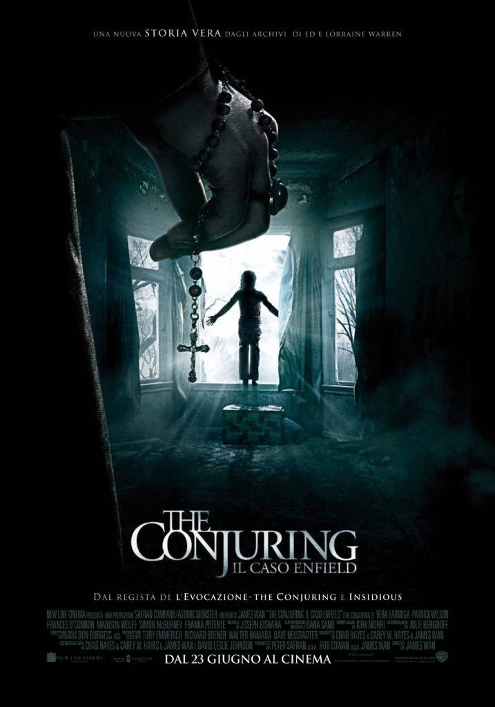conjuring 2 poster ita