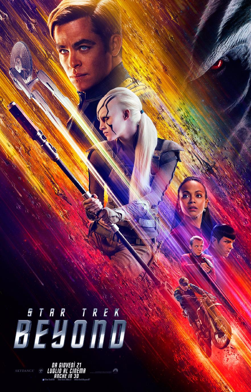 Poster ufficiale Star Trek Beyond