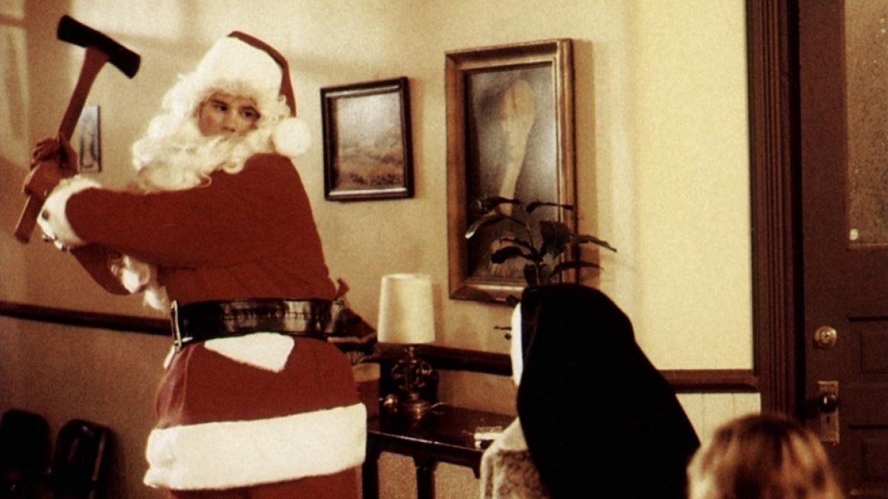 Babbo Natale Assassino.Natali Di Sangue Tutto Sulla Saga Horror Silent Night Darkside Cinema