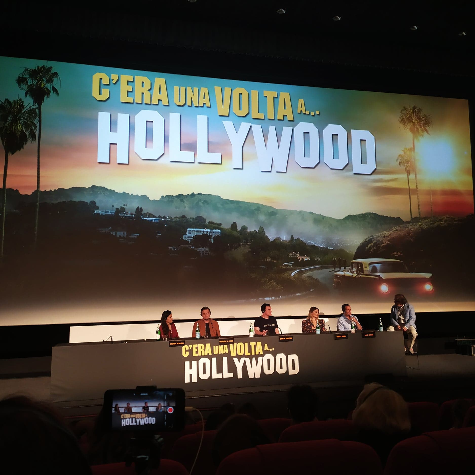 once upon a time in hollywood - press conference