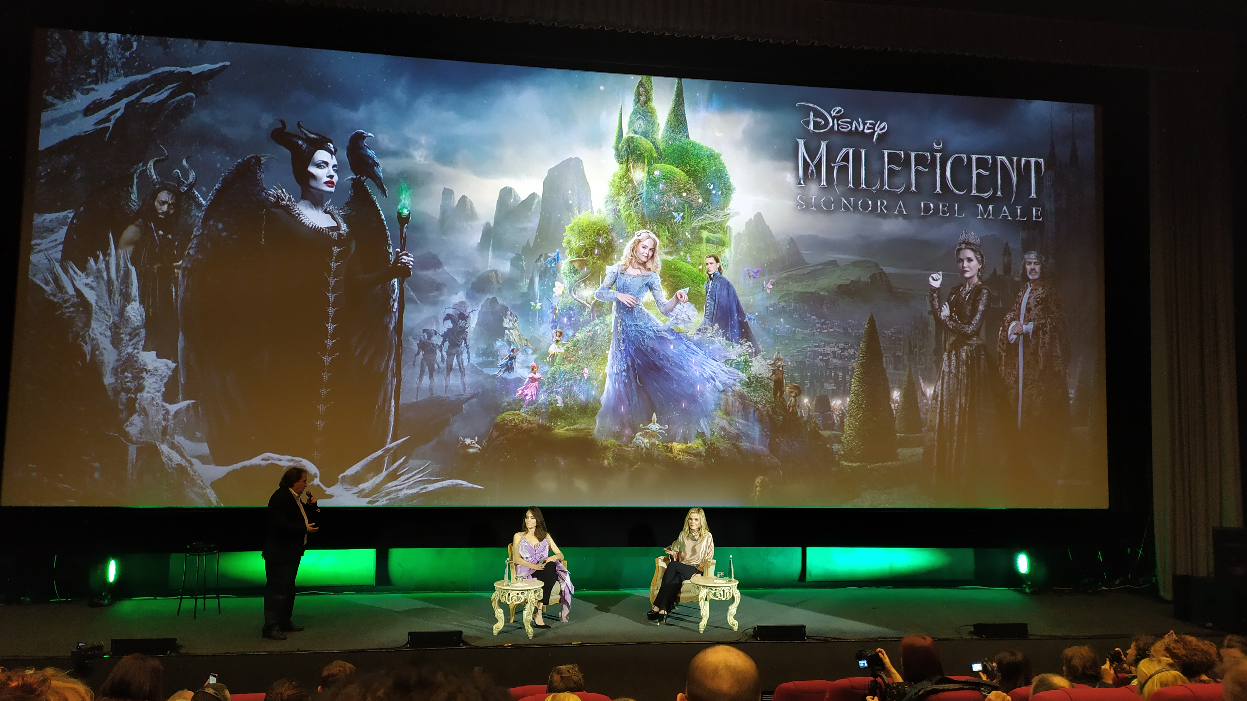 Maleficent - Angelina Jolie e Michelle Pfeiffer