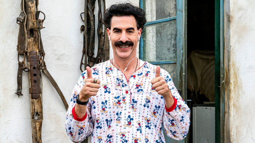 Borat subsequent movie