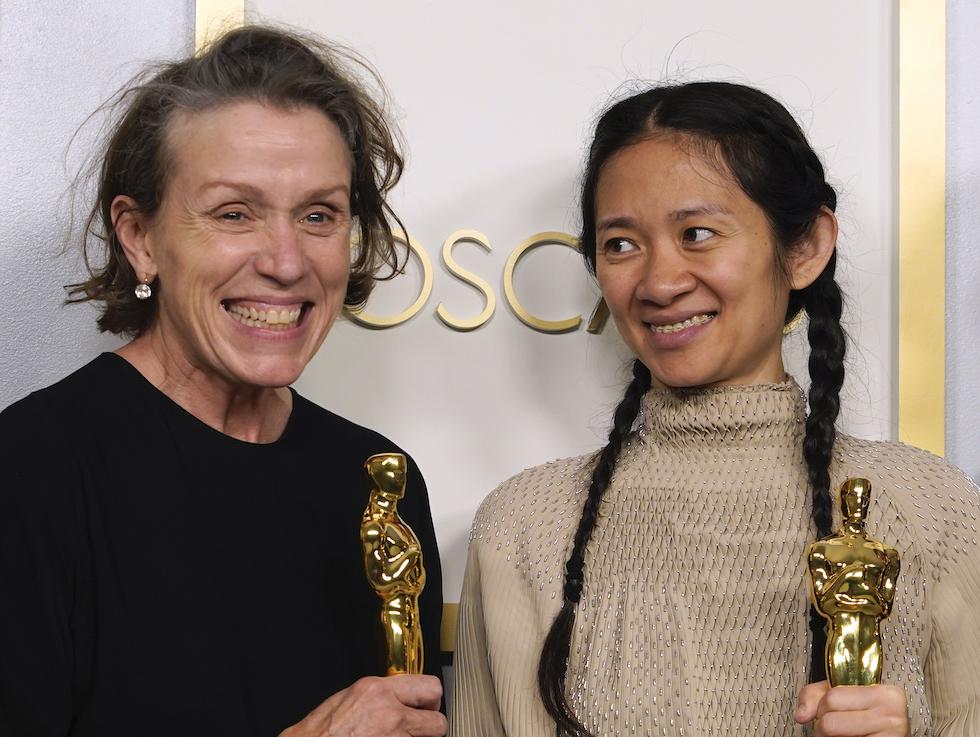 Frances McDormand e Chloe Zhao
